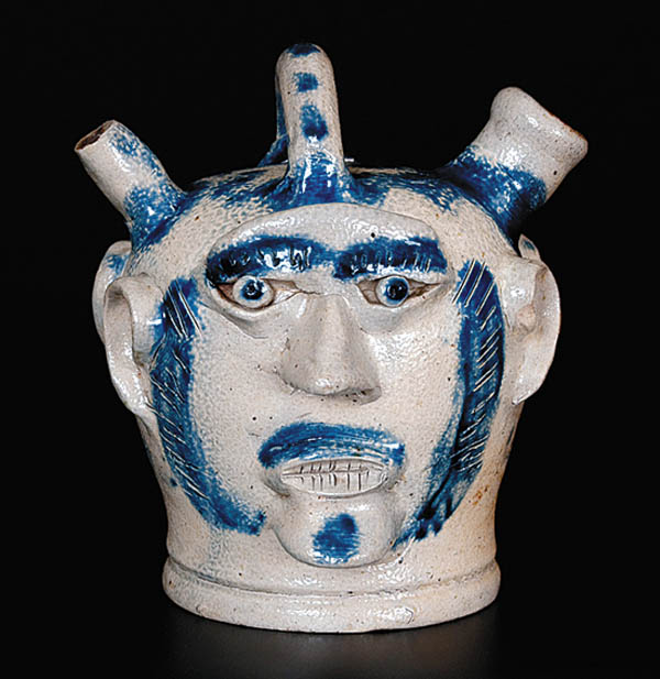 Antiques and Auction News Article: Crocker Farm To Offer A Rare Presentation Jug With Applied Faces In Upcoming Sale