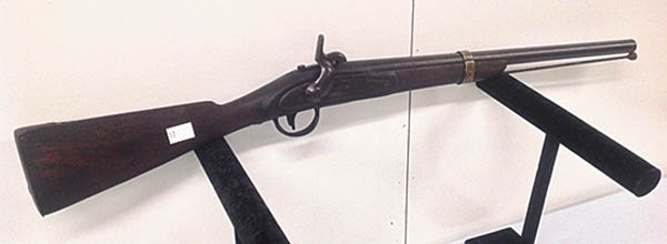 Burnt Chimney Auction To Sell Historical Firearms, Other Items For