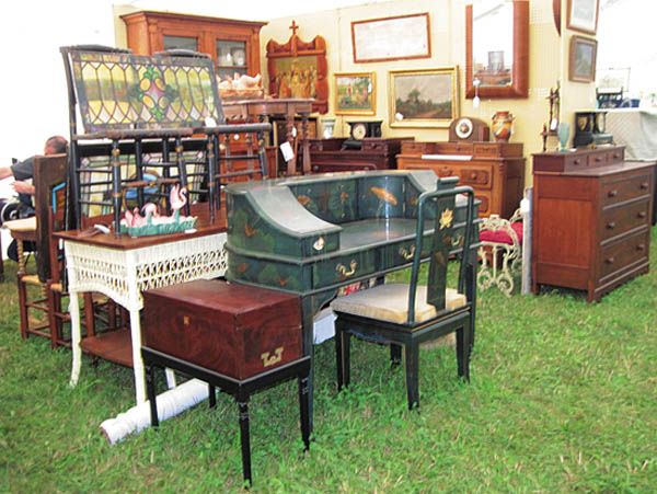 Antiques and Auction News Article: Madison Bouckville Big Field Antiques Show Planned For Aug. 17, 18, And 19