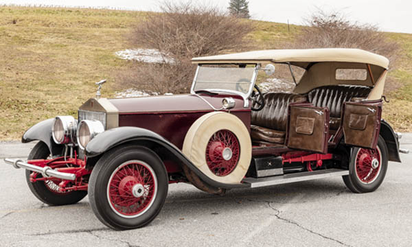 Antiques and Auction News Article: Winterthur Acquires Rare 1927 Rolls-Royce