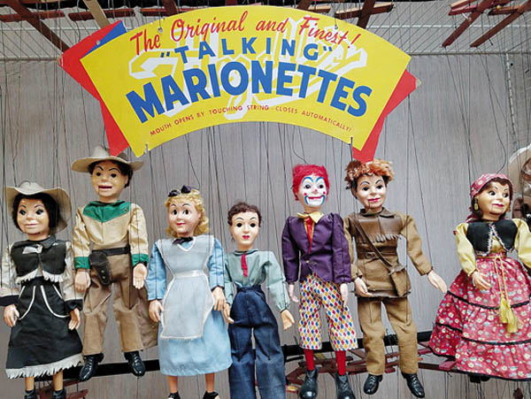 Antiques and Auction News Article: World On A String: All About Hazelle's Marionettes
