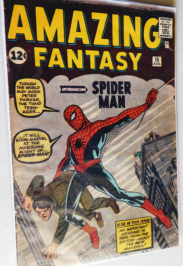 Antiques and Auction News Article: Bodnar's Auction Offers Rare Gem For Spider-Man Fans