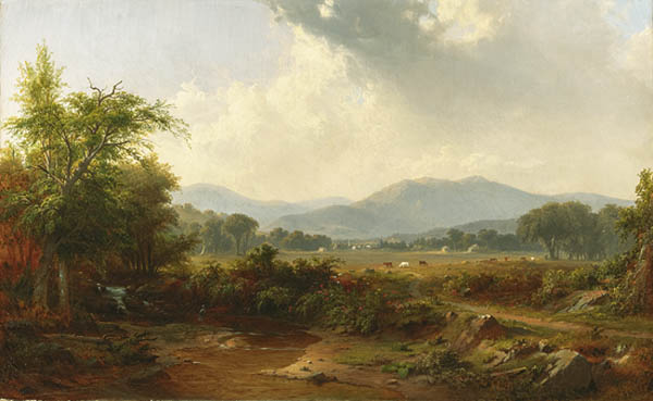 Antiques and Auction News Article: Winterthur Acquires Rare Painting by Robert S. Duncanson