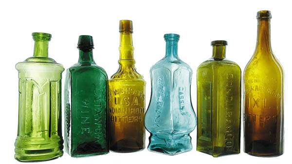 Antiques and Auction News Article: American Bottle Auctions Will Offer The Ken Fee Collection Of Bitters Bottles