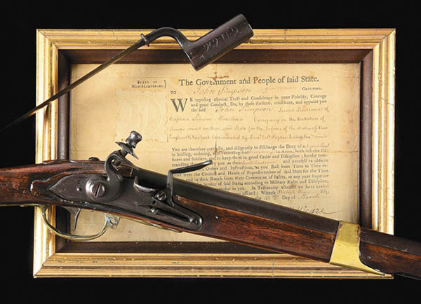 Antiques and Auction News Article: Morphy Auctions Sells Gun That Fired First Shot At Bunker Hill For $492,000