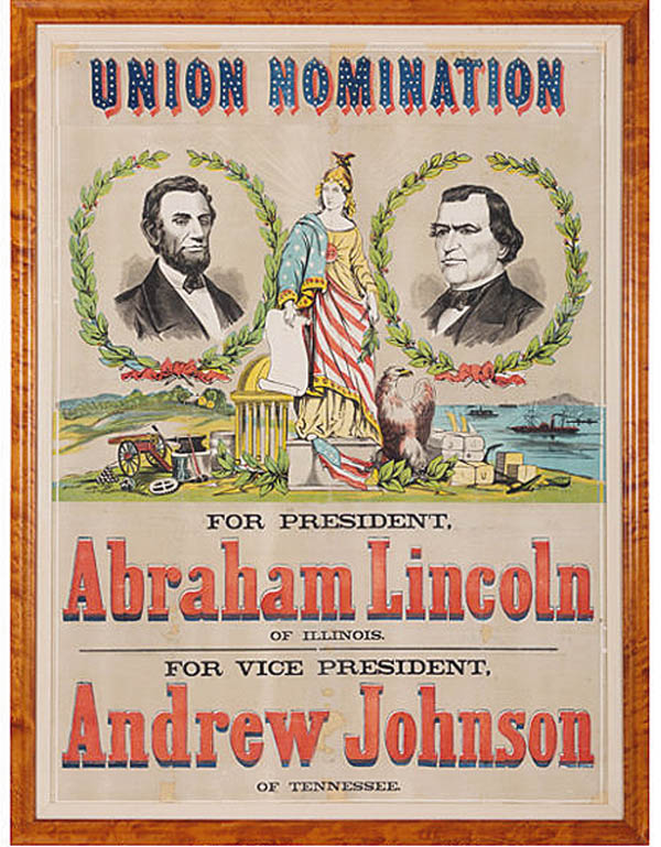 Antiques and Auction News Article: Spectacular Campaign Poster Leads Heritage Auctions' Lincoln Specialty Sale Above $1.8 Million