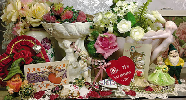 Antiques and Auction News Article: Grist Mill Antiques Center To Celebrate Hearts And Shamrocks