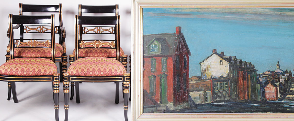 Walter Emerson Baum Painting Sells For $3,200 At Locati Online Sale