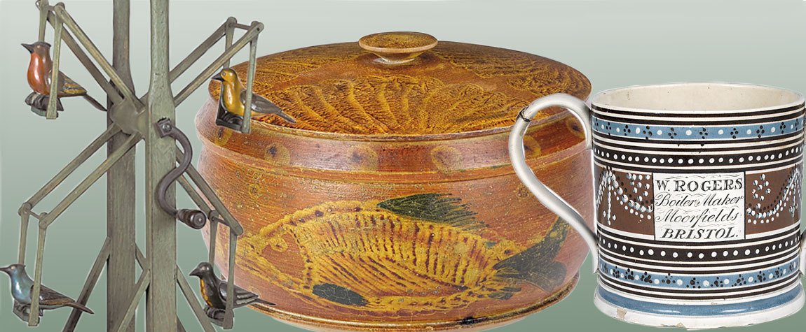 Americana And International Auction At Pook & Pook On Oct. 9 and 10